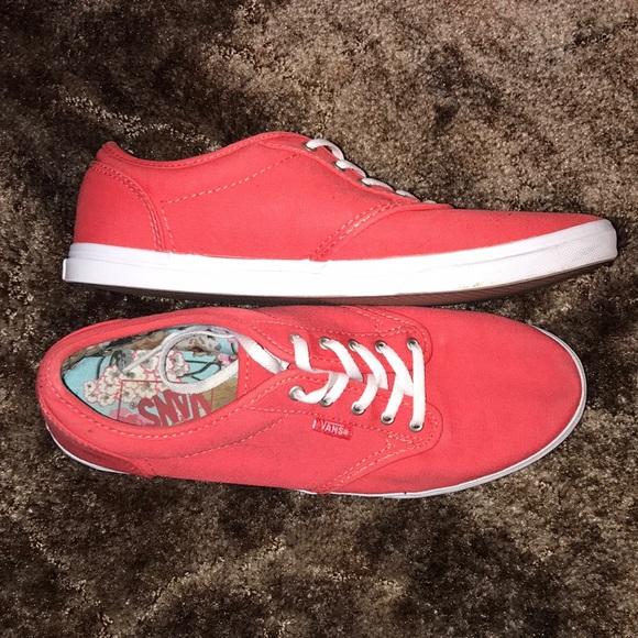 Vans Shoes | Bogo Red | Poshmark